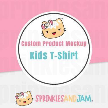 Custom Kids T-Shirt Mockup